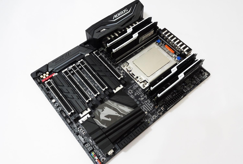 بررسی تخصصی مادربرد GIGABYTE X399 AORUS GAMING 7 به همراه آنالیز کارایی AMD Ryzen Threadripper 1950X