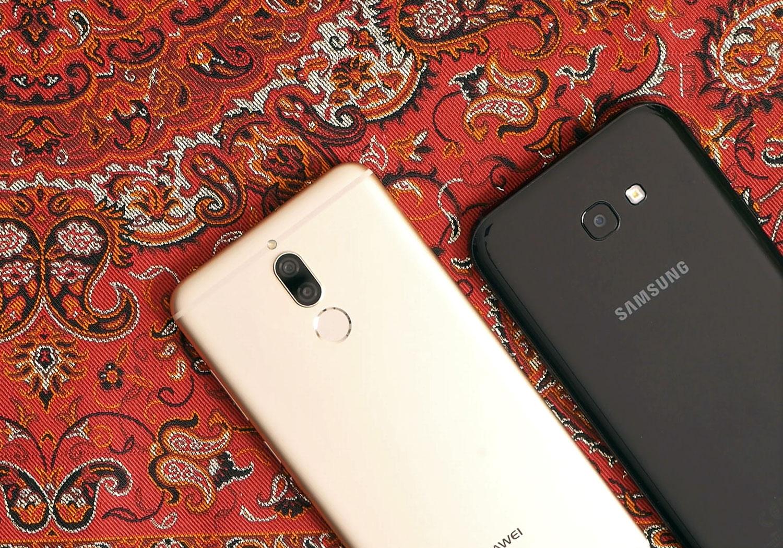 [ویدئو] مقایسه کامل و تخصصی Huawei Mate 10 Lite وSamsung Galaxy A7 2017