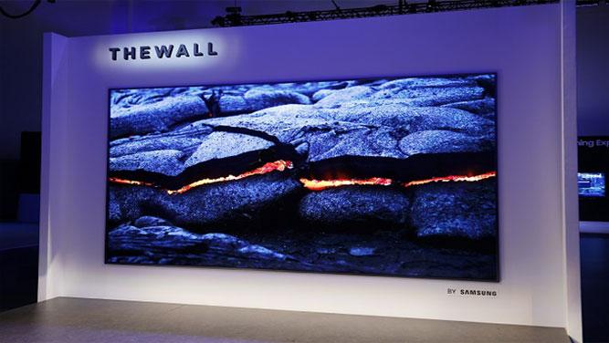 «دیوار» سامسونگ رونمایی شد