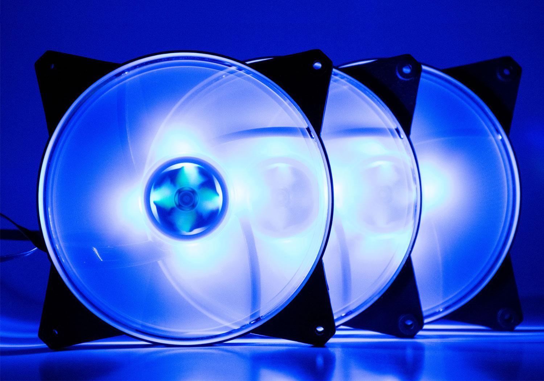 بررسی کیت فن Cooler Master MASTERFAN PRO 140 Air Flow RGB 3 in 1؛ مهمانی رنگها