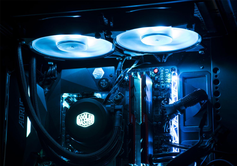 بررسی خنک کننده مایع MasterLiquid ML120L RGB و ML240L RGB کولرمستر؛ نورپرداز کمصدا