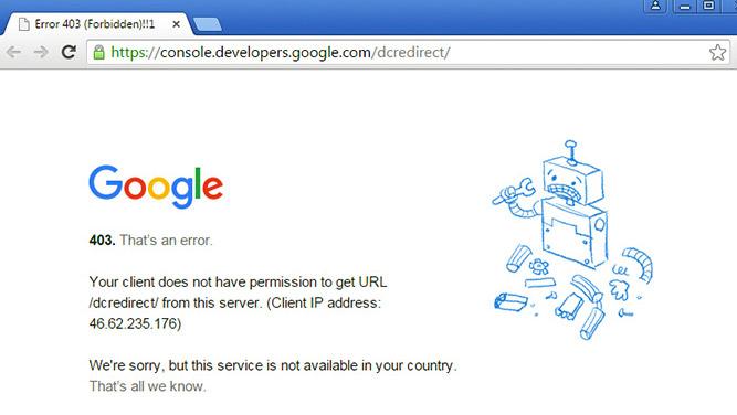 آمار دسترسی ایران به سرویسهای گوگل؛ 44 درصد از کلیه خدمات گوگل برای ایرانیان مسدود است
