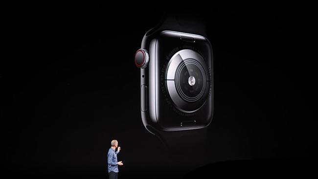 نوارقلب همیشه و همهجا با نسل 4 اپل واچ