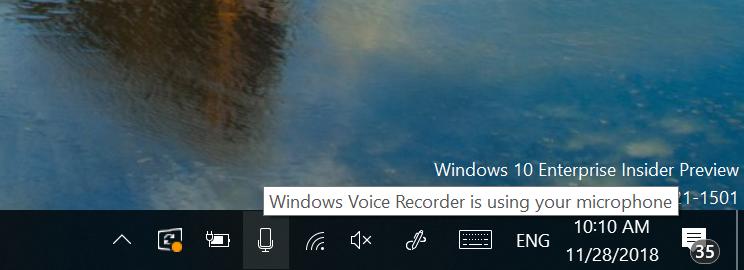 چطور در ویندوز 10 ببینیم هر لحظه چه نرمافزاری از میکروفون سیستم استفاده میکند؟