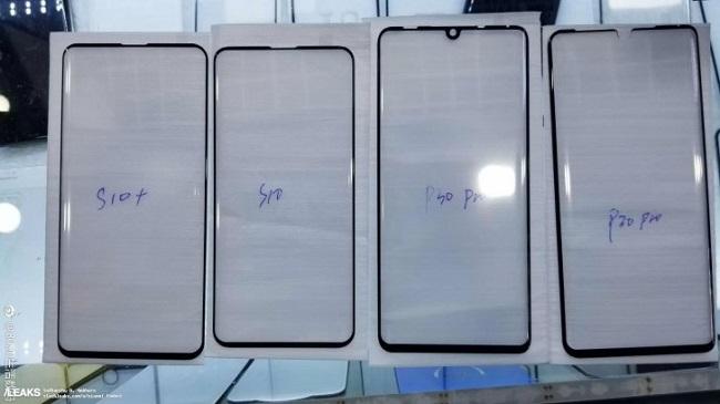 تصاویر لو رفته از محافظ صفحه نمایش P30 Pro به وجود ناچ نقطهای بر روی پرچمدار بعدی هواوی اشاره دارد