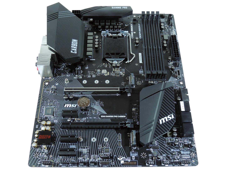 بررسی مادربرد MSI B360 Gaming Pro Carbon؛ ارزان اما همه فن حریف