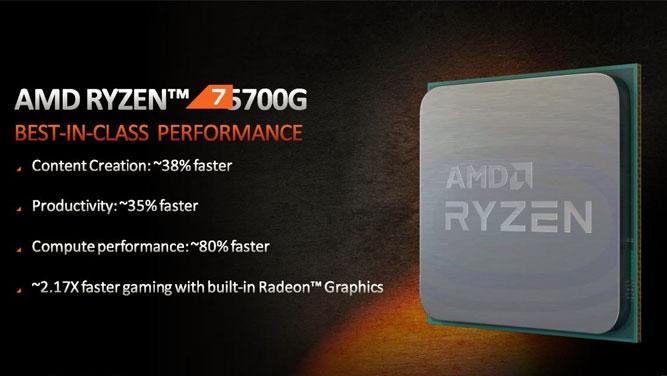 پردازنده های AMD Ryzen 5000G معرفی شدند؛ بی نیاز از کارت گرافیک