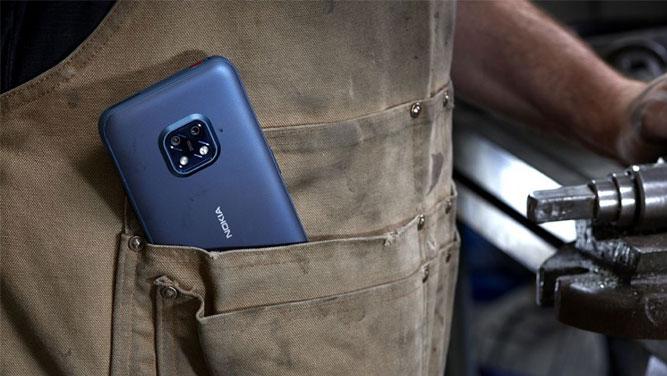 گوشی XR20 5G نوکیا معرفی شد؛ ضد آب و ضد ضربه با 4 سال دریافت آپدیتهای جدید اندروید