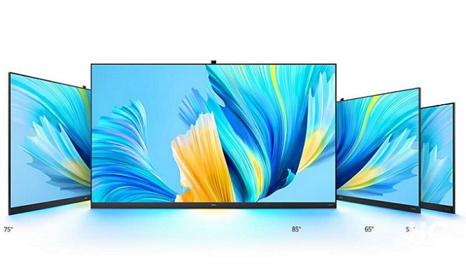 هوآوی معرفی کرد: تلویزیونهای هوشمند V 2021 با ویژگیهای جذاب و دوربین پاپ آپ