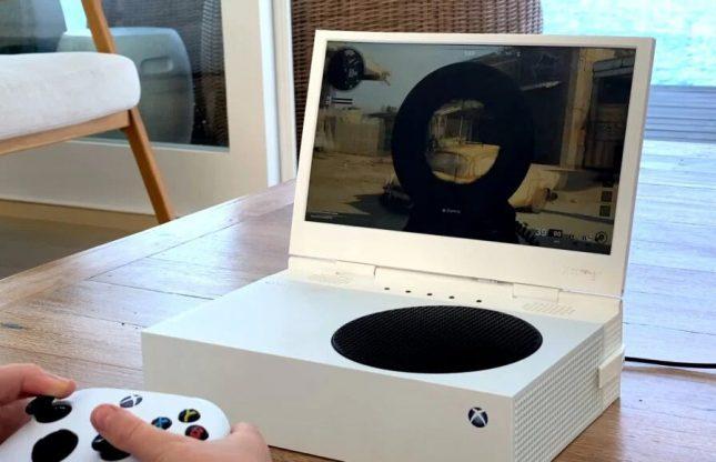 تبدیل کنسول Xbox Series S به یک لپ تاپ گیمینگ