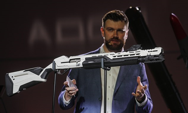 اولین اسلحه هوشمند جهان MP-155 Ultima